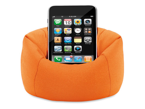 Beanbag Mobile Phone Holder Promotional Phone