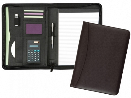 Chiddingstone Deluxe Zipped Conference Folders