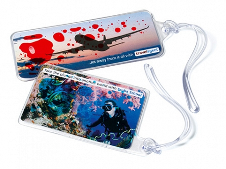 Liqui Luggage Tags